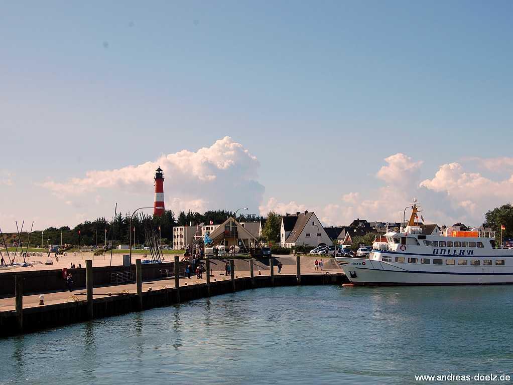 Schiffverbindung von Sylt nach Amrum