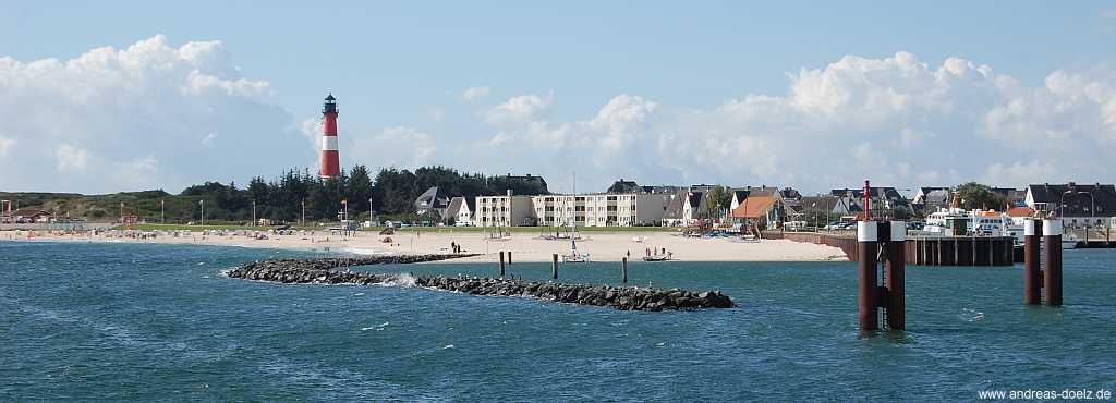 Verbindung mit dem Schiff nach Amrum ab Hörnum auf Sylt