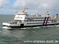 Anreise W.D.R.-Fährschiffe Amrum