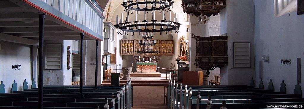 Kirche in Nieblum auf Föhr