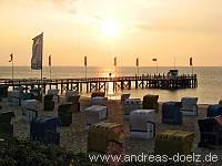 Sonnenaufgang Sandwall Wyk Föhr