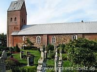 Kirche Friedhof Süderende Föhr