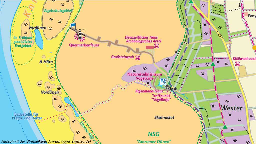 Kartenausschnitt SI-Verlag