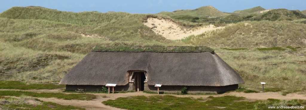 Eisenzeitliches Haus auf Amrum
