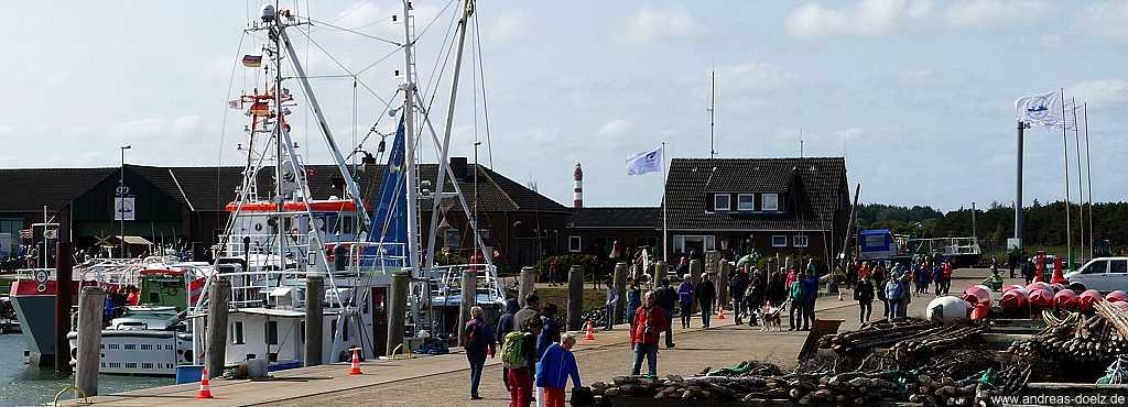 90 Jahre Seezeichenhafen von Wittdün auf Amrum