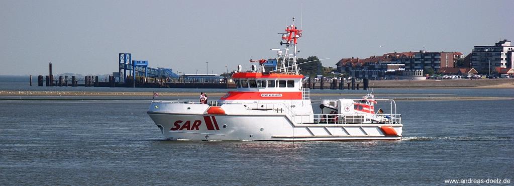 Seenotrettungskreuzer von Wittdün auf Amrum