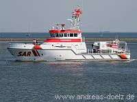 Häfen Seenot-Rettungskreuzer Wittdün Amrum