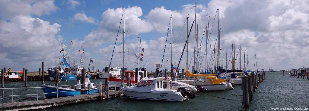 Yachthafen von Wittdün auf Amrum