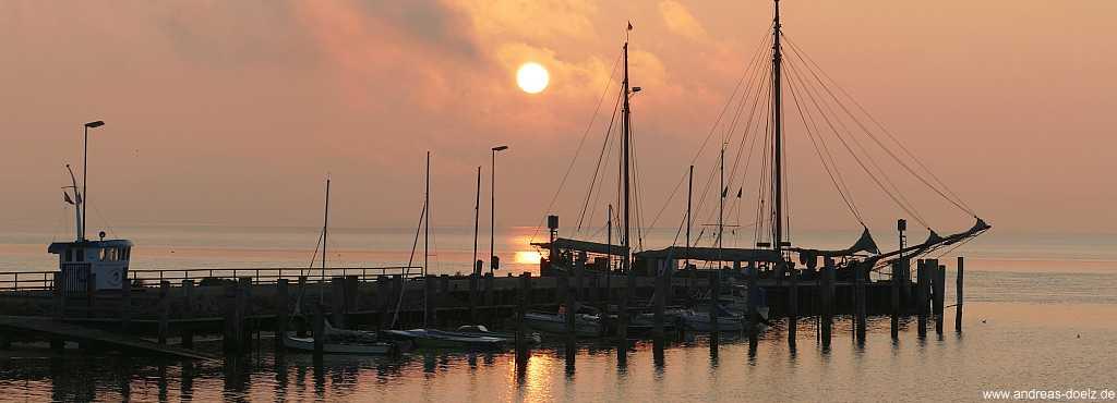 Sonnenaufgang bei Steenodde auf Amrum