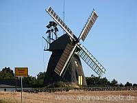 Wahrzeichen Wind-Mühle Nebel Amrum